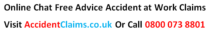 Accident At Work Claims Advice
